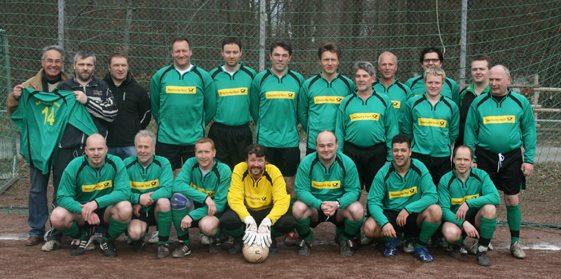 Das Team der Alten Herren der DJK Königsfeld 2010